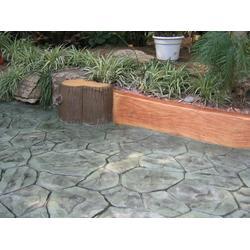 水泥压花地坪压模地坪材料优质生产厂家—恒森地坪材料图片