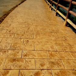 2018混凝土压模地坪材料优质厂家图片