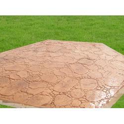混凝土压模地坪一平方多少钱,包工包料价?图片