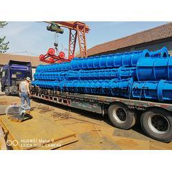 全自动水泥制管机械设备、驻马店制管机、恒森牌水泥制管机械图片