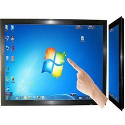 触摸显示屏出租,可触摸广告一体机租赁图片