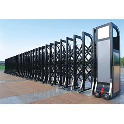不锈钢伸缩门,恩施伸缩门,门品门业优质品质保证图片