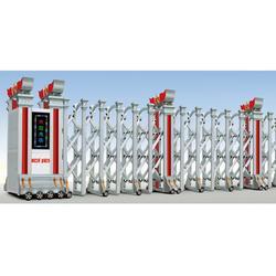 订做电动伸缩门|潜江电动伸缩门|门品门业专业设计定制