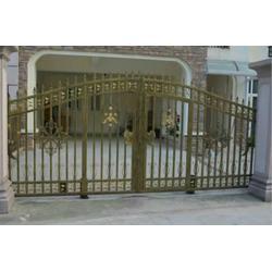 铁艺大门哪里有卖,荆州铁艺大门,大门定做选乐辰建材图片