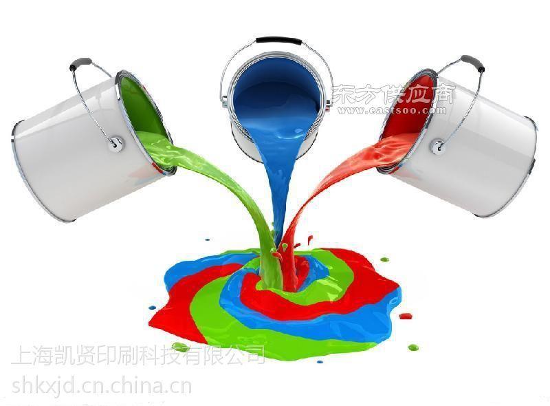 环保免处理丝印金属油墨图片