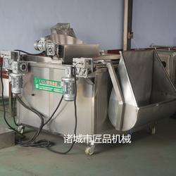 燃气式全自动带搅拌油炸机图片