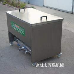 新沂燃氣式丸子油水混合油炸機圖片