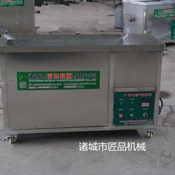 燃氣式火排油炸機 小型油水混合油炸鍋圖片