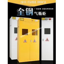 全钢单瓶气瓶柜/危险气体存储柜图片