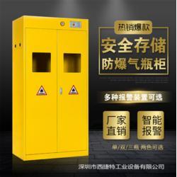 气瓶柜标准-气瓶防爆柜尺寸图片