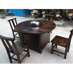 何氏木厂 炭烧实木桌椅 吉县实木桌椅