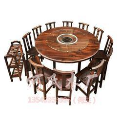中式快餐店桌椅|何氏木厂|桌椅图片
