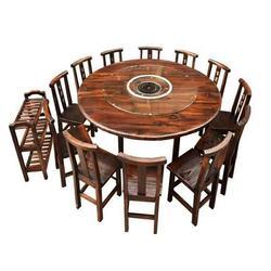 火烧木制桌椅,何氏木厂,火烧木制桌椅图片