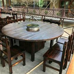 松木碳化家具-何氏木厂-碳化家具