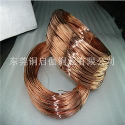 专业生产 国标紫铜软线 导电专用紫铜线 质量保证图片