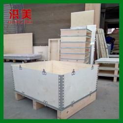 厂家直销 可拆卸拼装木箱定制 免熏蒸木质包装箱 实木托盘图片