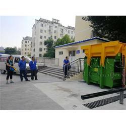升降式垃圾压缩站|泰达机械(在线咨询)|垃圾压缩图片