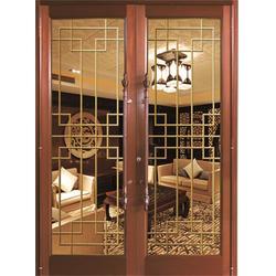 仿铜拉丝厂家、旺族门窗、崇左仿铜拉丝图片