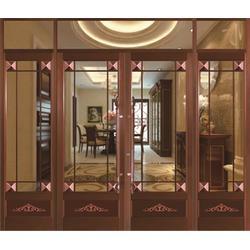 图木舒克仿铜拉丝|仿铜拉丝旋转门厂|旺族门窗(优质商家)图片