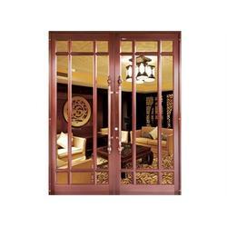 巴中仿铜拉丝|仿铜拉丝门生产厂家|旺族门窗(优质商家)图片