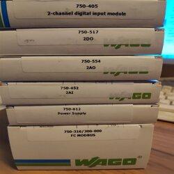万可750-312 总线耦合器 WAGO 750-314 PLC现场工作指南图片