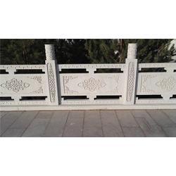河道两边石头栏杆生产厂家|西藏石头栏杆|实创雕塑图片