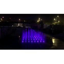 喷泉承包、汇丰源喷泉、郑州喷泉承包图片
