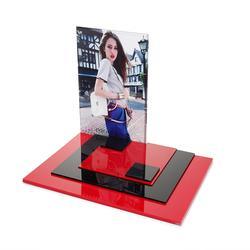 厂家直销亚克力化妆品展示架专业定制图片