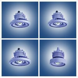LED防爆灯厂家-LED防爆灯-名创光电承接工矿照明图片