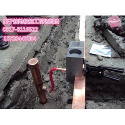 电解离子接地极使用放热焊接连接时操作的注意事项图片