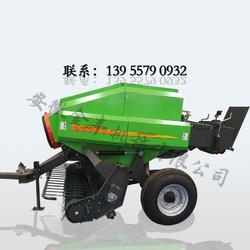 捡拾粉碎破碎型牧草打捆机 水稻秸秆打捆机图片