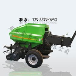 拖拉机动力秸秆粉碎打捆机 玉米秸秆方形草捆打捆机图片