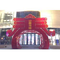 开业商场美陈 中耀园林雕塑(在线咨询) 商场美陈图片