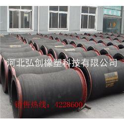 低价出售大口径胶管厂家 加工大口径埋吸胶管型号 安装灵活 耐磨埋吸胶管厂家图片