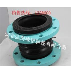 批量非金属膨胀节厂家 直销dn350大翻边异径橡胶接头 质量保证图片