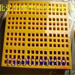 厂家优惠震动耐磨筛板 聚氨酯筛网厂家 聚氨酯制品高品质多规格图片