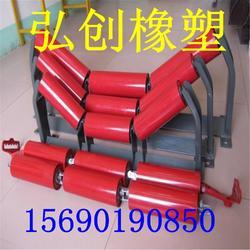 厂家专销  弹性聚氨酯托辊/缓冲托辊//聚氨酯浇筑托辊//品质优质图片