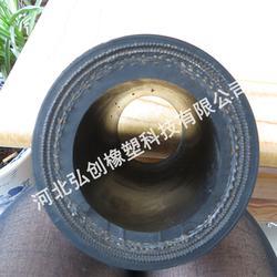 专营法兰式胶管厂|钢丝法兰缠绕胶管低价出售低压胶管型号齐全图片
