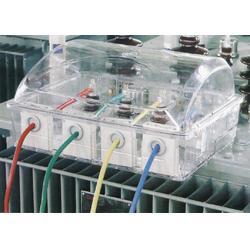 茂启小号变压器防窃电防护罩 中号半透明防护罩图片