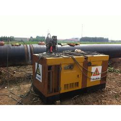电王发电电焊机HW800DS柴油双把手工双把半自动水冷静音400A×2纤维素下向氩弧引擎电焊机图片