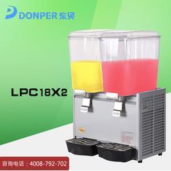 东贝LRP18x2D-W冷热饮机 无氟双缸冷热饮机 商用自动冷热饮料机图片