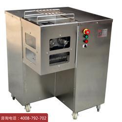 供应QSJ-B切肉丝机 不锈钢商用一次性切肉成丝机切片切丝均可图片