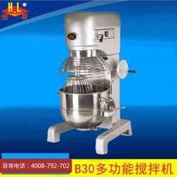 恒联B30和面机不锈钢立式搅拌商用多功能大型和面搅拌机械设备图片