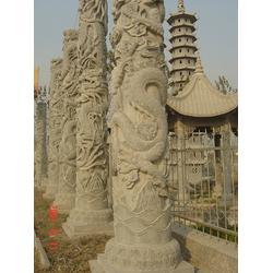 石雕龙柱的加工厂家、嘉祥超越石业(在线咨询)、高唐石雕龙柱图片