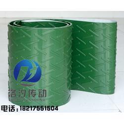 绿色人字纹pvc输送带生产厂家图片