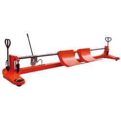 液压双经轴斗箱式综框上轴车,浙江上轴车,金太阳新纺织机配套图片