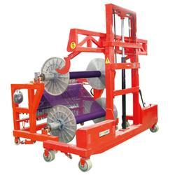 全电动双层织机带综框上轴车,金太阳新纺织机,上轴车图片