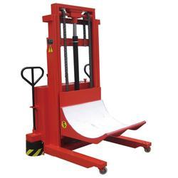 无锡市金太阳新纺织机,液压上轴落布运输车图片