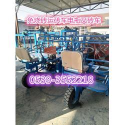 小型水泥砖电瓶叉砖车 水泥砖电动运砖车图片