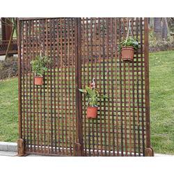 碳化木木门|太原碳化木|居美康防腐木图片